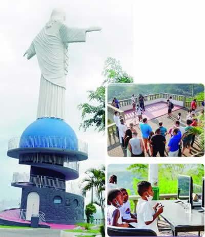 Read more about the article Cristo  de Itaperuna revitalizado
