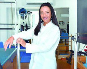 A fisioterapeuta Gleicy Faria
