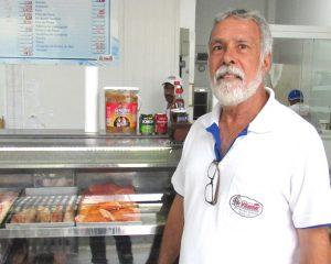 O empresário Celso Celso Manhães, da Peixaria Vilamar