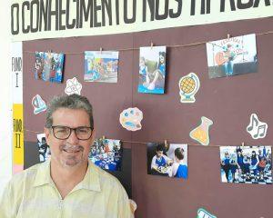 Um dos coordenadores pedagógicos do Colégio Centro de Estudos, Fábio Willeman Alonso