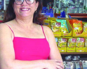 A médica veterinária Dra. Lina Goulart