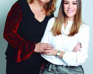 As médicas psiquiatras Dra. Lana Maria Pereira e Dra. Gabriela Dal Molin, da Clínica Vila Verde