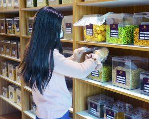 Os clientes contam com variedade de produtos