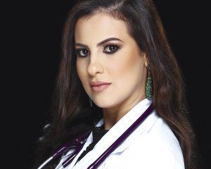 Talya Silveira Andrade, que simbolizou o começo do curso de Medicina da UniRedentor estampando a capa do Mania de Saúde, em setembro de 2015